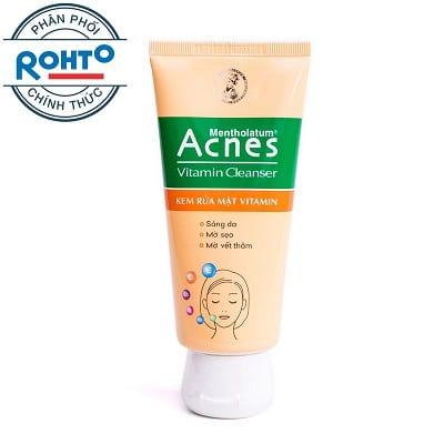 Sữa rửa mặt Acnes 9