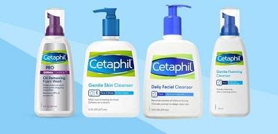 Sữa rửa mặt cetaphill 1