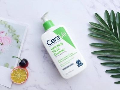 Sữa rửa mặt cho da khô Cerave Hydrating Cleanser