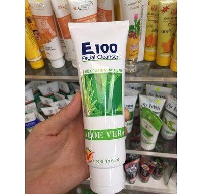 Sữa rửa mặt E100 2