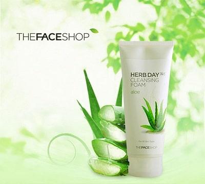 Sữa rửa mặt the face shop 8
