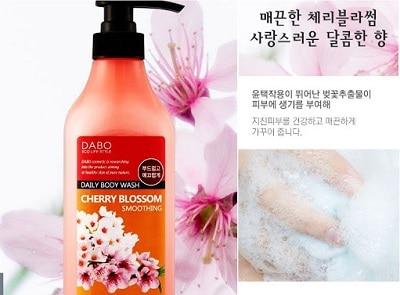 sữa tắm hàn quốc dabo cherry blossom