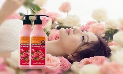 sữa tắm hàn quốc dabo romantic rose
