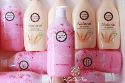 sữa tắm hàn quốc happy bath