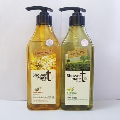 sữa tắm hàn quốc showermate body nature green tea