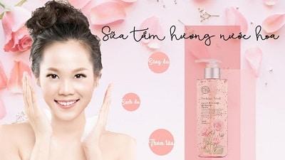 sữa tắm hàn quốc the face shop perfume seed capsule body wash