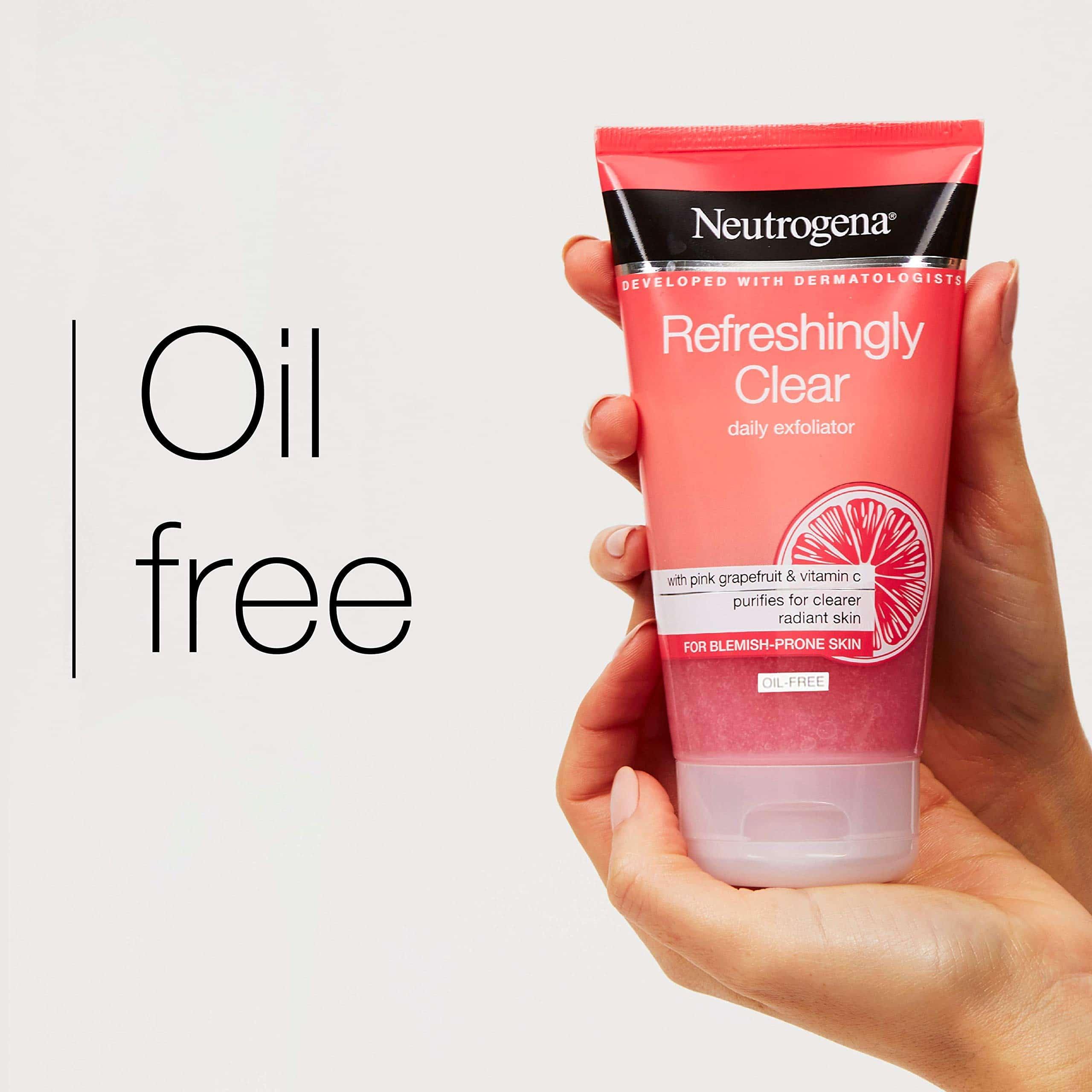 Tẩy da chết Neutrogena Refreshingly Clear Daily Exfoliator