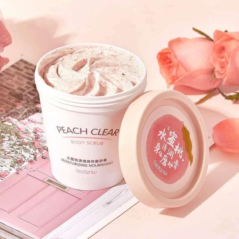 Tẩy da chết Peach Cream