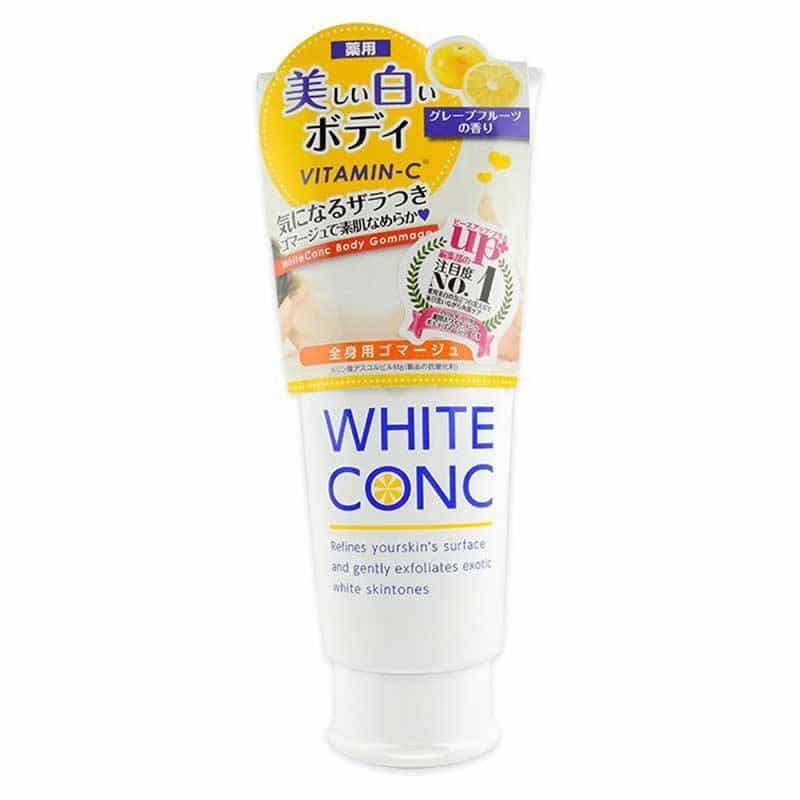 TẨY TẾ BÀO CHẾT TRẮNG DA TOÀN THÂN WHITE CONC