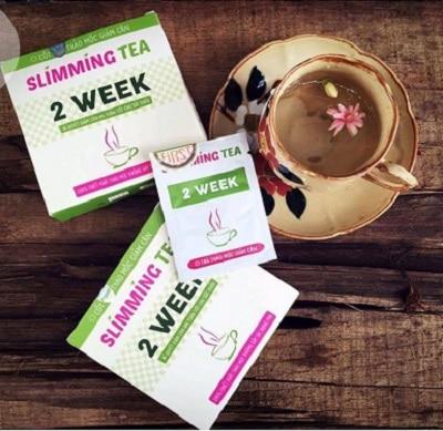 trà giảm cân slimming tea 2 week 1