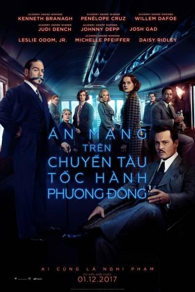 truyện trinh thám kinh dị hay án mạng trên chuyến tàu tốc hành phương đông