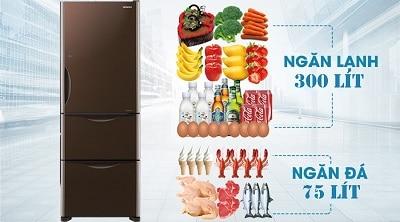 tủ lạnh 3 cánh 4