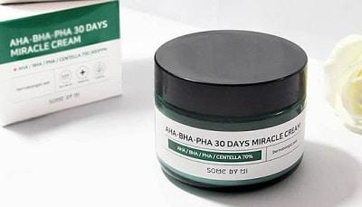 kem trị mụn Hàn Quốc AHA-BHA-PHA 30 Days Miracle Cream