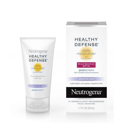 Kem dưỡng ẩm Neutrogena Healthy Defense Daily Moisturizer SPF 50