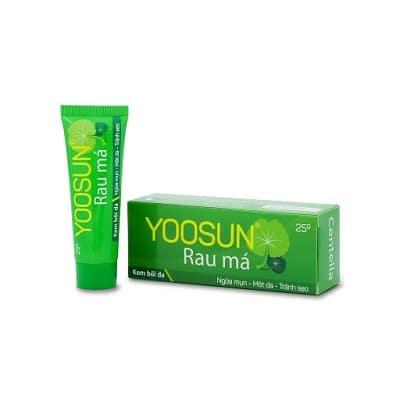 kem trị mụn rau má Yoosun 4