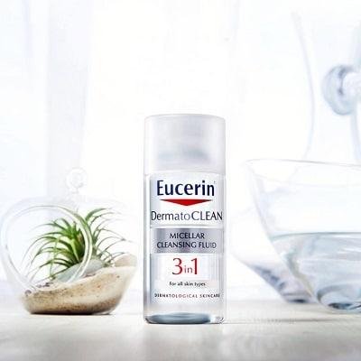 nước tẩy trang eucerin dermato clean