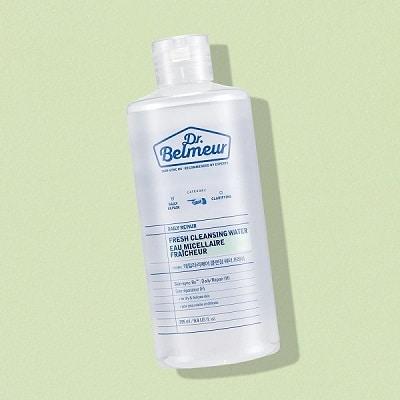 Nước tẩy trang Hàn Quốc The Face Shop Dr.Belmeur Daily Repair Fresh Cleansing Water