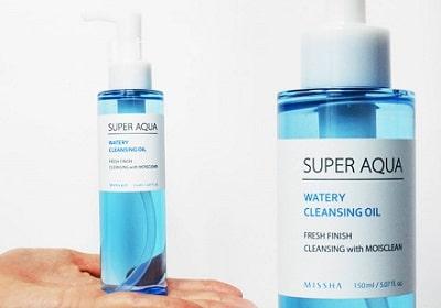 Nước tẩy trang Hàn Quốc cho da dầu Missha Super Aqua Fresh Cleansing Liquid