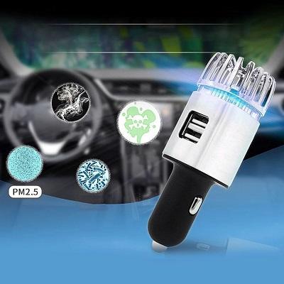 máy khử mùi ô tô