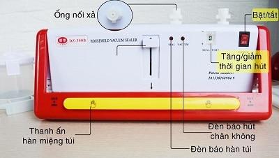 máy hút chân không DZ300b