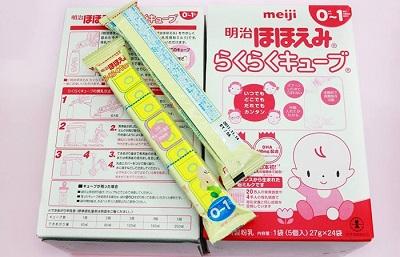 sữa Meiji thanh