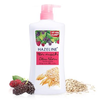 sữa tắm Hazeline