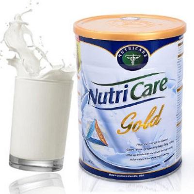 sữa tăng cân
