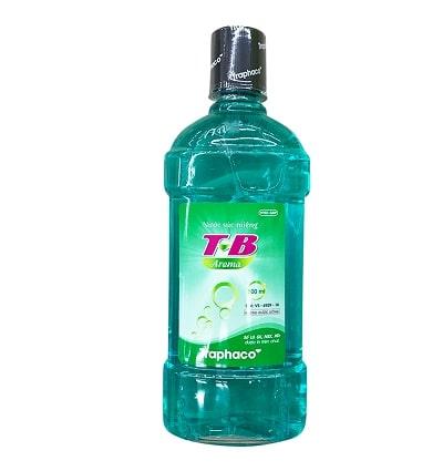 nước súc miệng TB