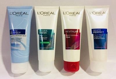 sữa rửa mặt L'Oreal