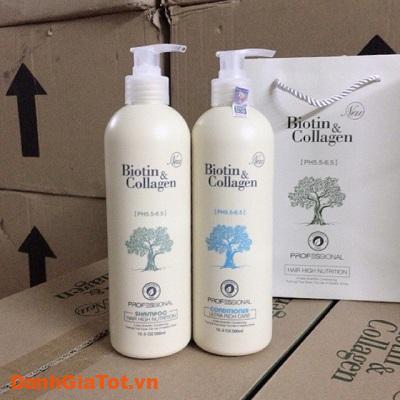 dầu gội collagen trắng 1