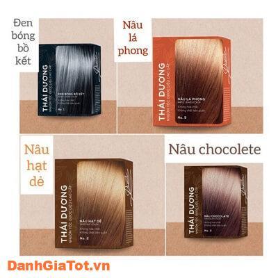 thuốc nhuộm tóc thái dương 3
